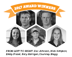2017 award winners