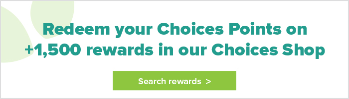 Redeem Choices Points